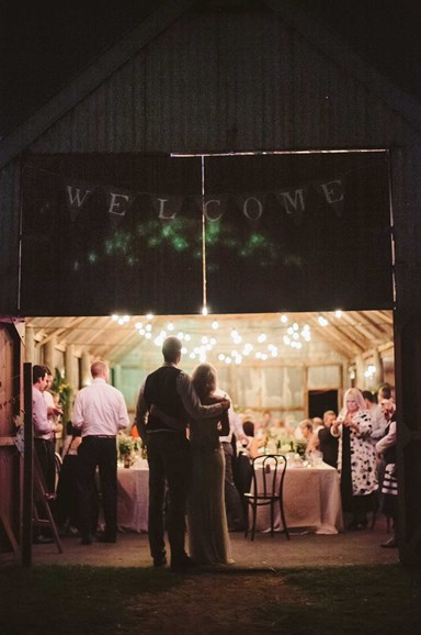 Vintage-inspired barn wedding
