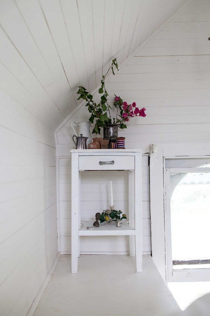 """I loved the idea of floorboards as walls and ceilings."" Image courtesy of [Hunter Hunter (http://www.hunterhunter.com.au/)