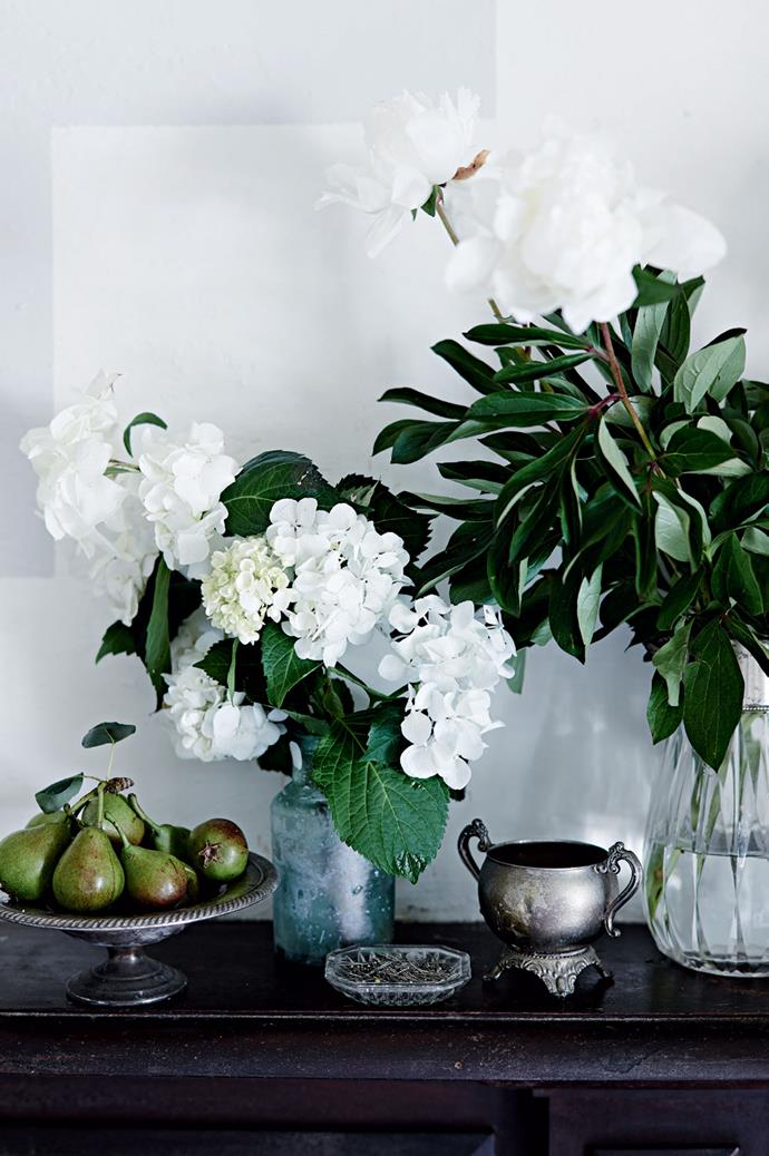 "Michelle brings the outdoors in with fresh fruit, flowers and foliage. Bangalow offers everything Michelle could wish for — ""It's green, it feels fresh, and it's just so beautiful in any direction you walk."""