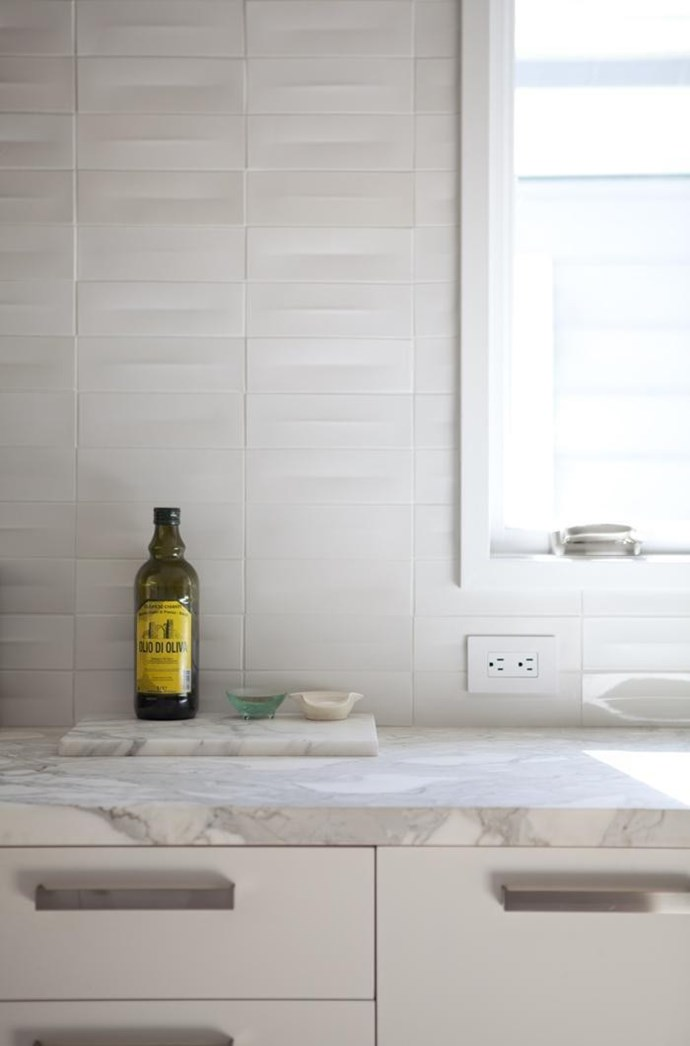 Despite being susceptible to scratching and staining, marble is heat resistant, strong, and generally doesn't chip or dent. This white Calacatta marble countertop looks beautiful in the kitchen of a San Francisco bungalow. The architect was Ian Read of Medium Plenty.