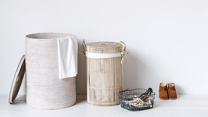 Assorted baskets from [Freedom](https://www.freedom.com.au/storage/organisation/boxes-and-baskets/169). | Photo: Nigel Lough