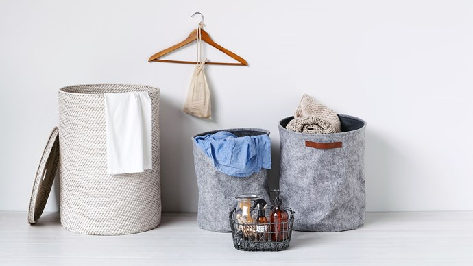 Assorted baskets from [Freedom](https://www.freedom.com.au/storage/organisation/boxes-and-baskets/169).