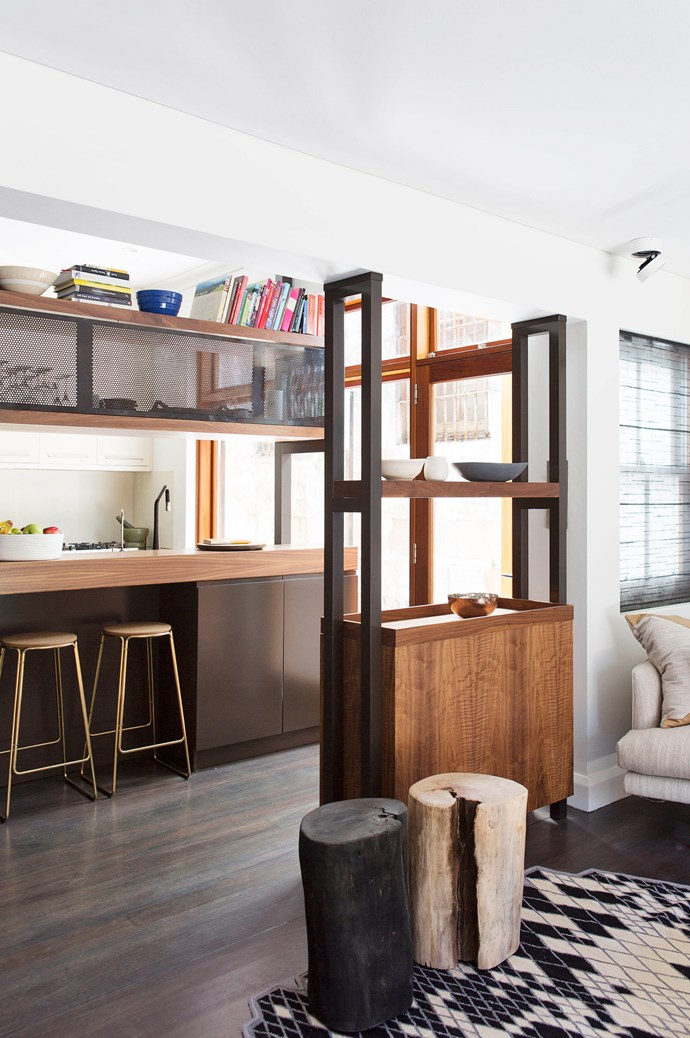 [Sarah Jayne Studios](http://www.sarahjaynestudios.design/) and [Khe Design](http://khedesign.com.au/) solved the space dilemma in this small home by using timber joinery. It adds solid beauty to a hardworking kitchen space that also has to accommodate a passageway and link to a living area. Photography by [Simon Whitbread](http://www.simonwhitbread.com.au/). Shortlisted for Residential Decoration Category in the Australian Interior Design Awards 2016.