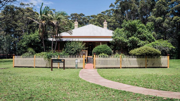The beautifully preserved [Roto House](https://www.nationalparks.nsw.gov.au/things-to-do/historic-buildings-places/roto-house), located next to the Port Macquarie Koala Hospital, was built in 1891 by surveyor John Flynn, who used local red mahogany. | Photo: Michael Wee