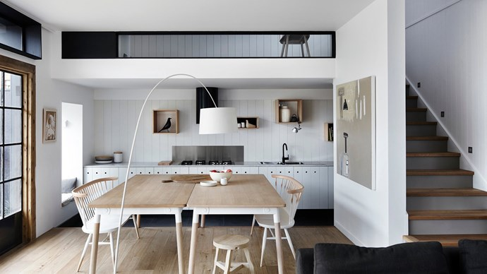 It's said that a kitchen can make or break a home, which is a lot of pressure for a room. It's got to be functional, streamline, be nice to work in and it's got to stand the test of friends and relatives poking around in it. So what do you do when your kitchen is dimensionally challenged?  | Photo: Sharyn Cairns
