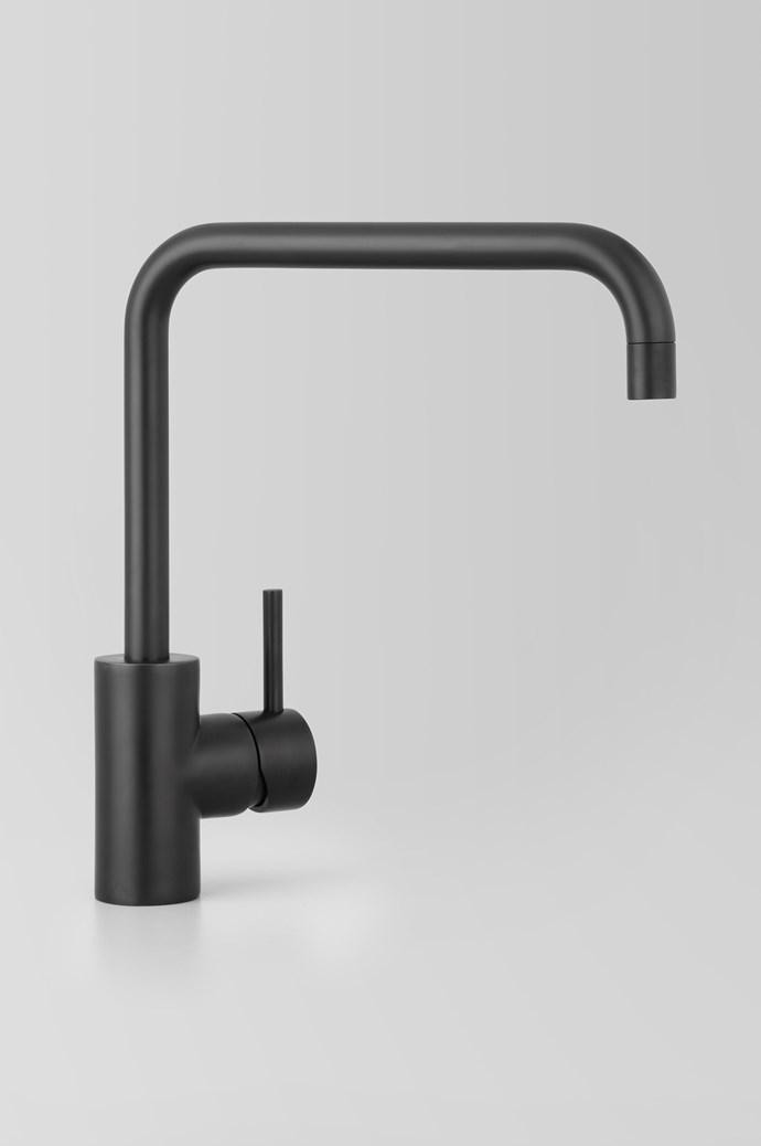 A69.08 V2 Icon Sink Mixer in Matt Black, $634, [Astra Walker](http://www.astrawalker.com.au/)