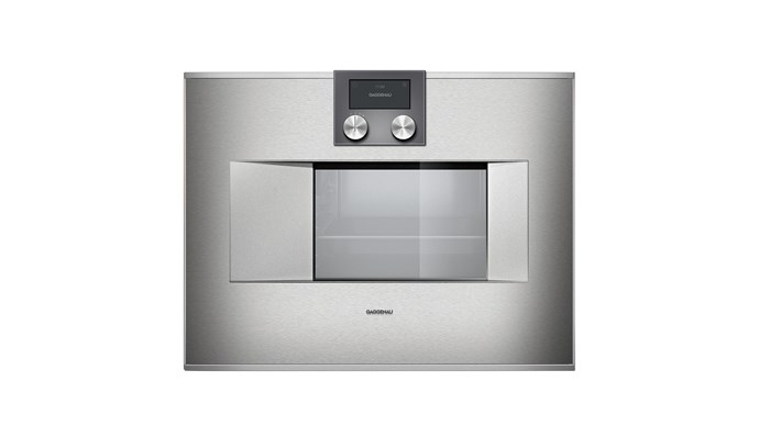 400 Series 60cm Combi-Steam Oven in Stainless Steel, $9,999, Gaggenau, [gaggenau.com.au](http://www.gaggenau.com/au)
