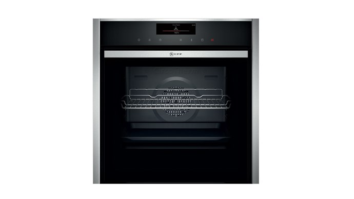 71L Oven with Slide & Hide, $5,999, Neff, [neff.com.au](http://www.neff.com.au/)