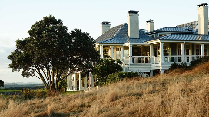 Fours hours drive north of Auckland, the lodge is perched on the edge of picturesque Matauri Bay. | Photo: Mark Roper