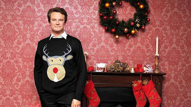 Actor Colin Firth (pictured) introduced Australia to the ugly Christmas jumper in the early 2000s, when he modelled a series of spectacular specimens in the _Bridget Jones_ films. That, combined with internet entrepreneurs like [Tipsy Elves](http://www.tipsyelves.com/) and [uglychristmassweater.com](http://www.uglychristmassweater.com/) has seen an increase in sales and sightings of these magnificent creations. A long-standing tradition in the northern hemisphere, Christmas in July is the time for Australians to prove their ugly Christmas mettle in the international arena. _Image from [Pure Trend](http://www.puretrend.com/rubrique/stars_r21/colin-firth-son-mythique-pull-de-noel_a60456/1)_