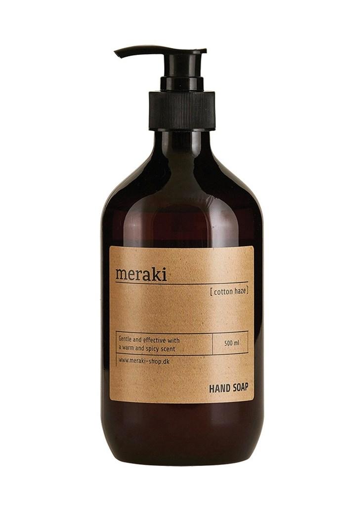 Meraki hand soap, $34.95, from Telegram Open House