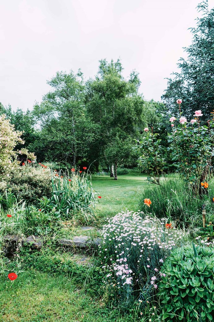 """Like Lucy's still-life compositions, her [rambling garden](https://www.homestolove.com.au/a-rural-property-in-central-victoria-6355