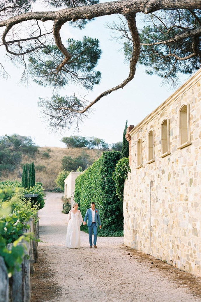 [Kingsbrook Estate, Currency Creek, SA](http://kingsbrook.com.au/): For any bride wishing to feel like the queen of the castle, Kingsbrook Estate is the venue to choose. Offering versatility and extravagance, the Tuscan estate has it all - walled gardens, manicured lawns, a vineyard and a marquee. Image courtesy: [Bentin Marcs](http://bentinmarcs.com/)