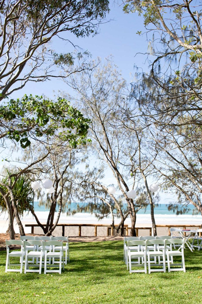 [Hidden Grove, Noosa, QLD](http://www.visitnoosa.com.au/weddings-ceremony-locations): Hidden Grove is the perfect backdrop for a beach wedding. Find a quiet moment by the ocean, curtained by casuarinas, before a lively reception in one of the many restaurants on nearby Hastings Street. Image courtesy: [Lindy Photography](http://lindyphotography.com.au/)