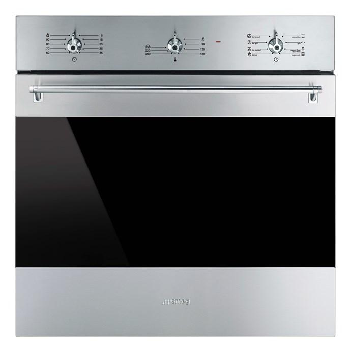 SFA6304X Classic Stainless steel oven, $1590, SMEG, smeg.com.au