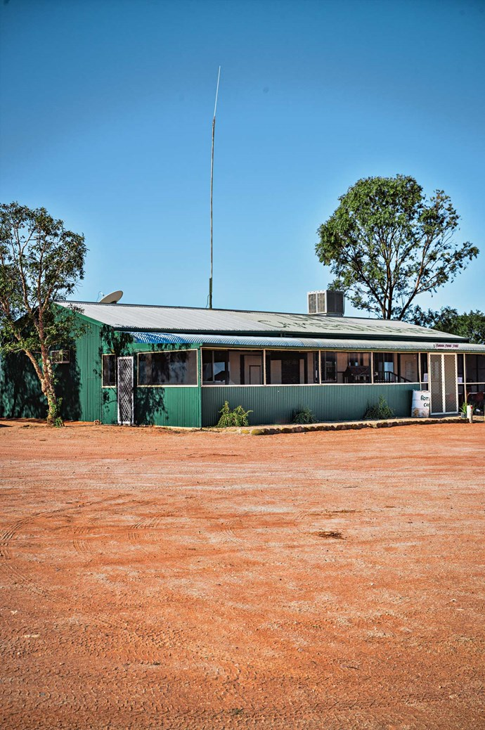 "[Cameron Corner Store](https://www.whichcar.com.au/explore/qld/the-cameron-corner-store|target=""_blank"") marks the point where the three states meet. It sits beside the Dingo Fence, the longest fence in the world."