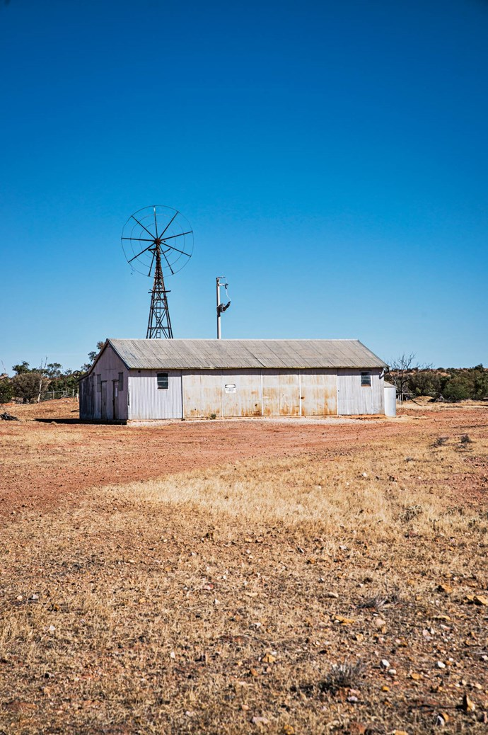 "An [old shearing shed](https://www.homestolove.com.au/shearing-shed-converted-into-guest-quarters-6923|target=""_blank"") recalls the national park's pastoral history."