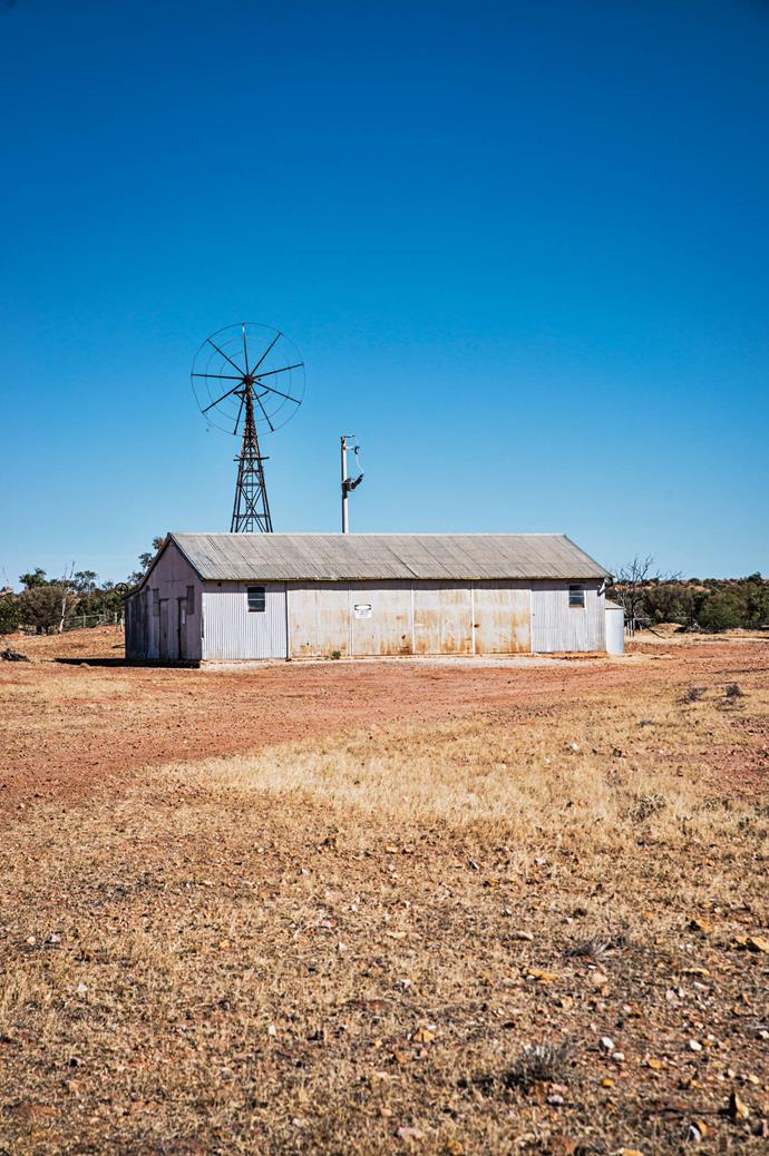 """An [old shearing shed](https://www.homestolove.com.au/shearing-shed-converted-into-guest-quarters-6923