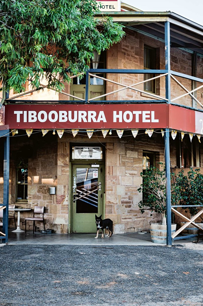 Despite being the most isolated town in the state, Tibooburra is alive with community spirit. On Briscoe Street, the Tibooburra Hotel and Family Hotel are regular watering holes for the townsfolk.