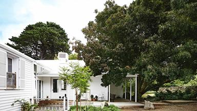 Natural-light filled farmhouse