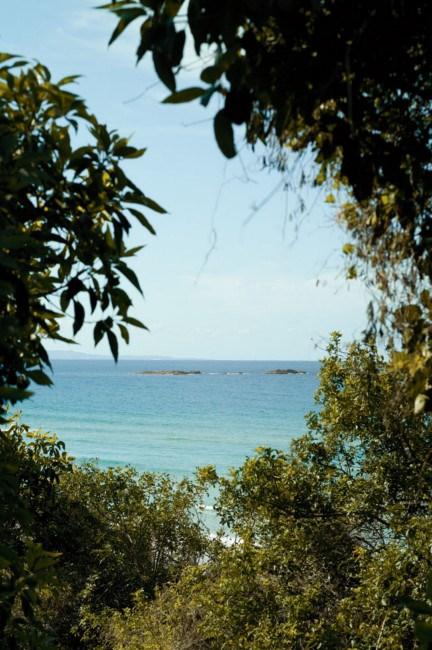 Ocean glimpses.    Photo: Jared Fowler