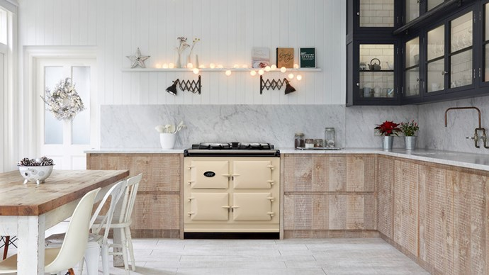 Ovens are a big ticket item you don't want to get wrong, especially if you love your cooking. AGA cookers (pictured) are always ready to cook, even though they don't have any switches or dials; their thermostatic control system keeps the temperature constant. Effective insulation ensures energy isn't wasted.