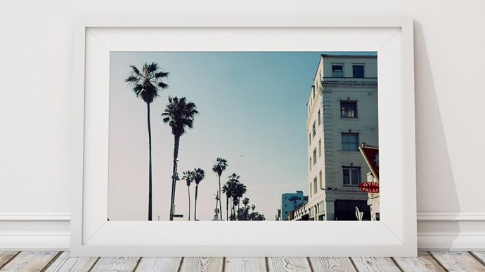 Bring a touch of LA's summer vibes into your home with this coastal-inspired print. 'California' photo art, $189, [Atelier Lane](https://www.atelierlane.com/collections/100-500/products/california/).