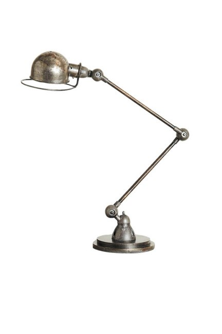 1940s French balanced-arm lamp from [The Country Trader](http://www.thecountrytrader.com.au/default.aspx). | Photo: Craig Wall