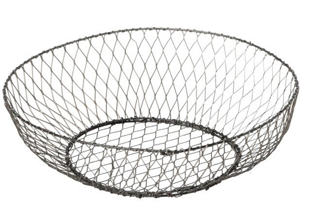 Mesh bowl from [Shelf/Life](http://www.shelflife.com.au/). | Photo: Craig Wall