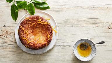 Gluten-free orange and almond cake
