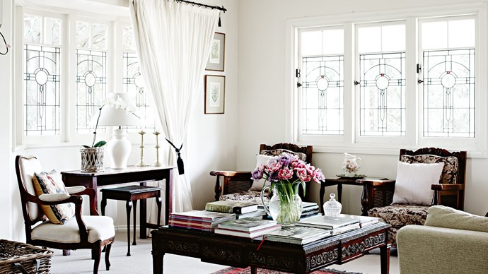 """[Stained-glass windows](https://www.homestolove.com.au/stained-glass-19272