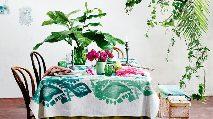 One of our mottos here at Homelife is: if in doubt, add a plant. Indoor plants add beauty and also help to filter the air — which is great for everyone, but even better if you suffer from allergies. | Photo: Lisa Cohen