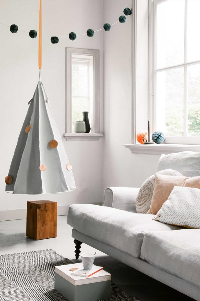 From our friends at [Inside Out](http://www.insideout.com.au/) comes this hanging felt tree. The best part? You can make it once and use it for years to come.