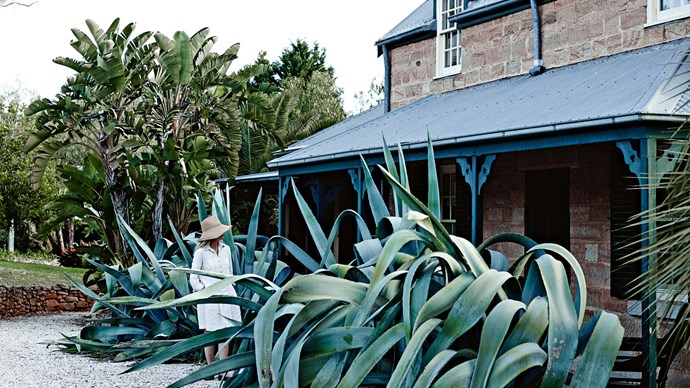 Christmas at [Glenmore House](http://www.glenmorehouse.com.au/) is filled with tradition, and a table laden with the results of interior decorator Mickey Robertson's kitchen garden. | Photo: Mark Roper