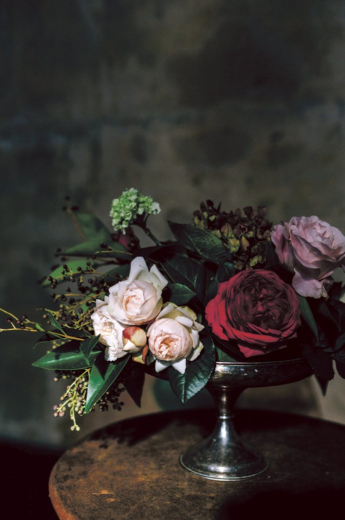 Churchill is the bespoke event space run by creative floral stylists Vanessa Partridge and Caris Haughan from the store Prunella in nearby Kyneton.