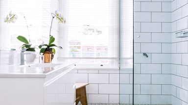 How to clean bathroom grout: video