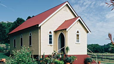 The country church that became a family home