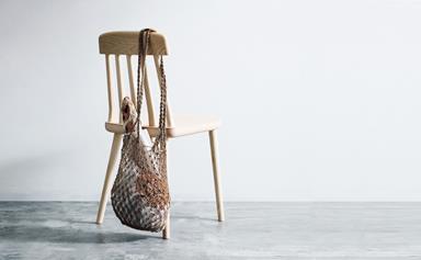 Make a macramé string bag
