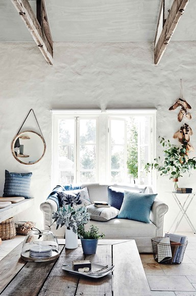 How to style a living room