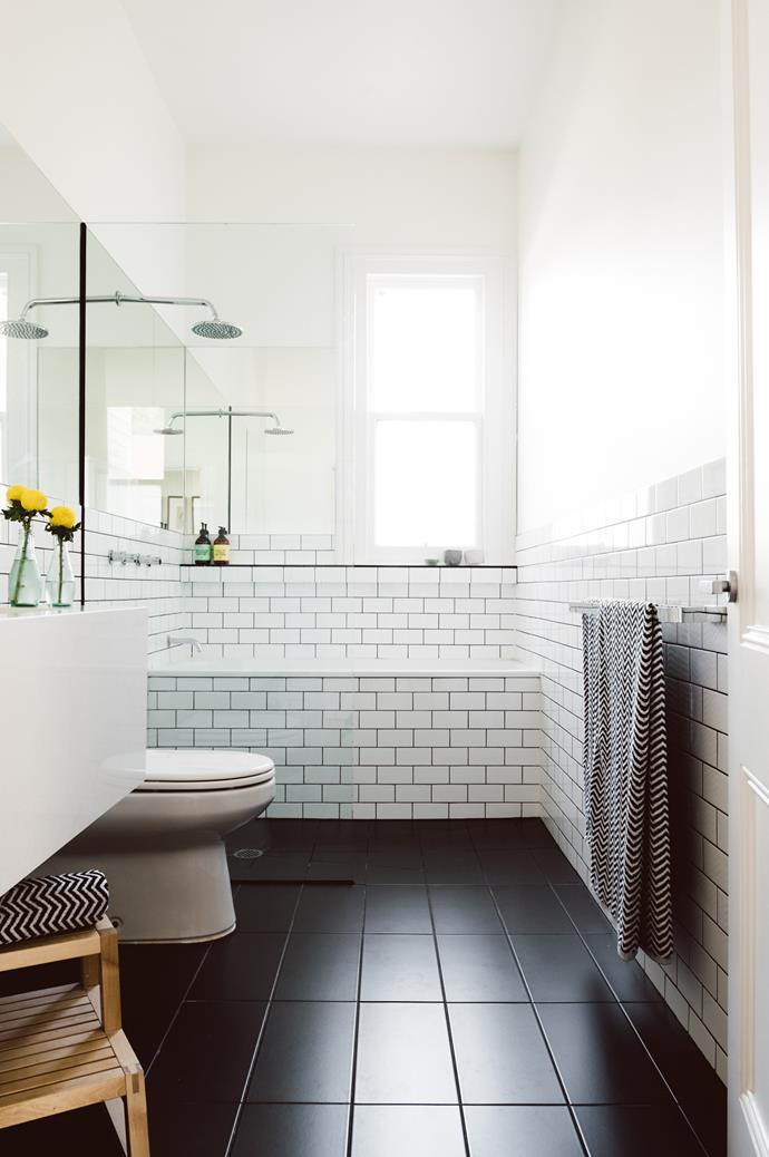 "3. Tiles. When it comes to bathrooms, porcelain tiles are Kate's top pick, being super durable and easy to keep clean.  While the tiles of your childhood may have you scrunching your nose in distaste, Kate says there is a tile to suit any aesthetic. ""You can get porcelain tiles that look identical to timber flooring, and you can also get fab marble lookalike tiles for a fraction of the cost of the real thing.""  