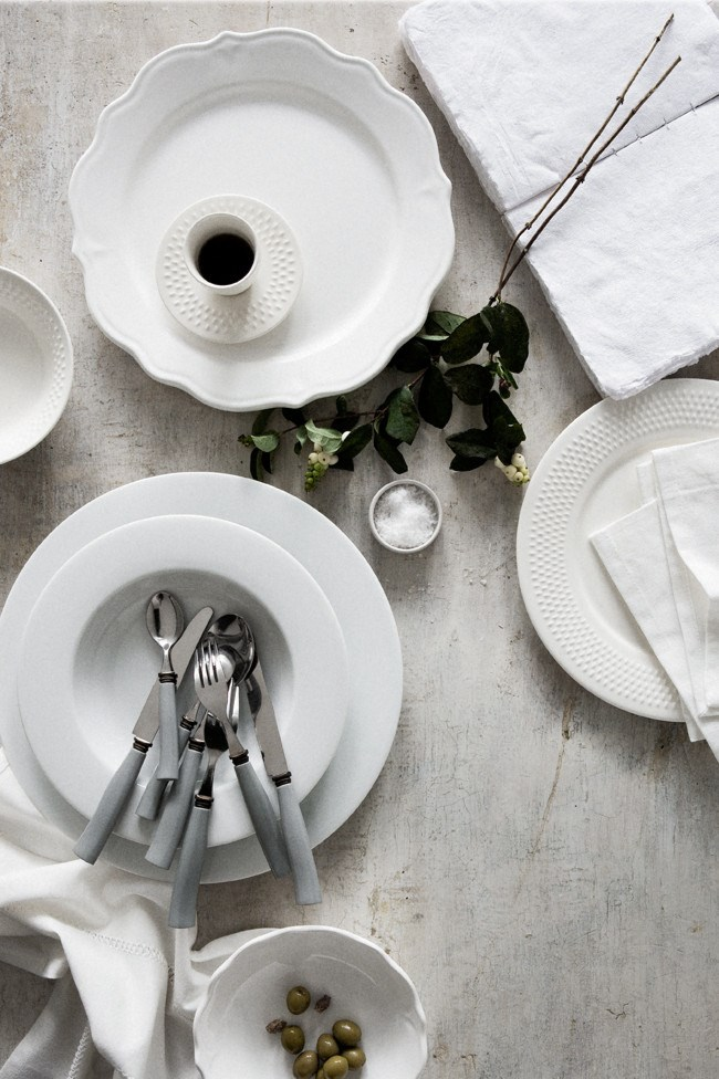 White china is a classic staple in any home  | Photo: Sam McAdam-Cooper