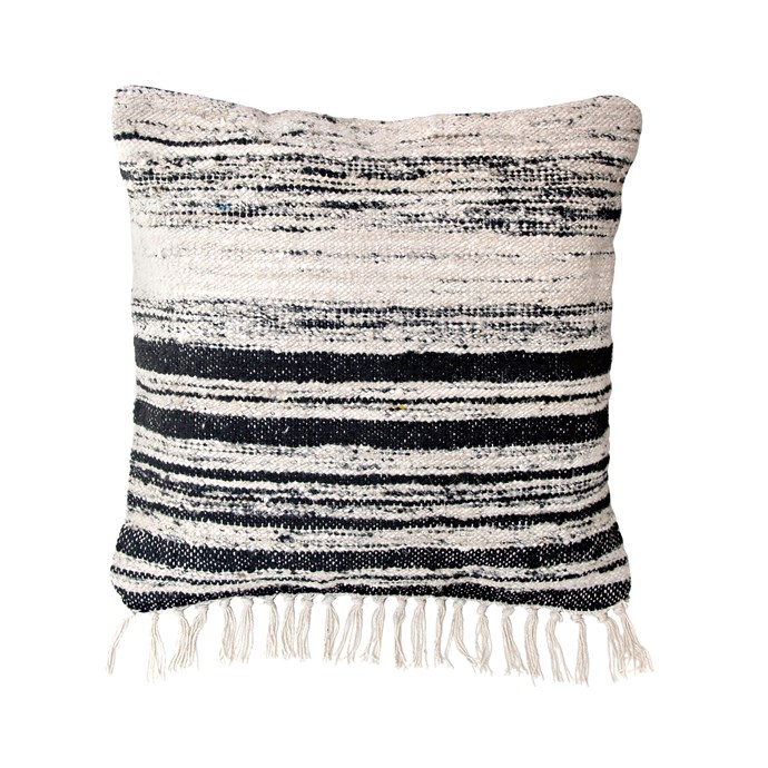 8\. HK Living silk weave cushion, $99, from [House of Orange](http://www.houseoforange.com.au/).