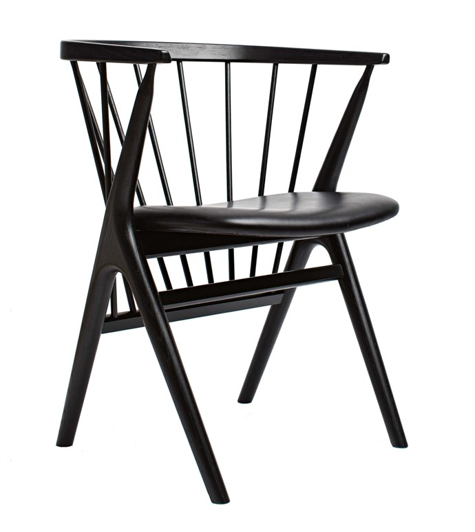17\. Sibast Furniture No. 8 dining chair in black, $1480, from [Danish Red](http://danishred.com.au/).