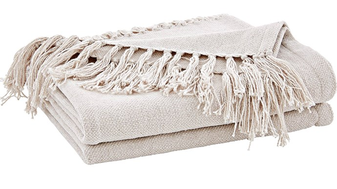 4\. 'Bellham' throw, $129.95, from [Sheridan](https://www.sheridan.com.au/).