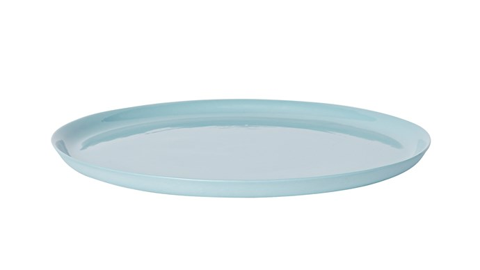 Make breakfast in bed extra nice for Mum with this dinner plate in blue, $50, from [Mud Australia](https://mudaustralia.com/)
