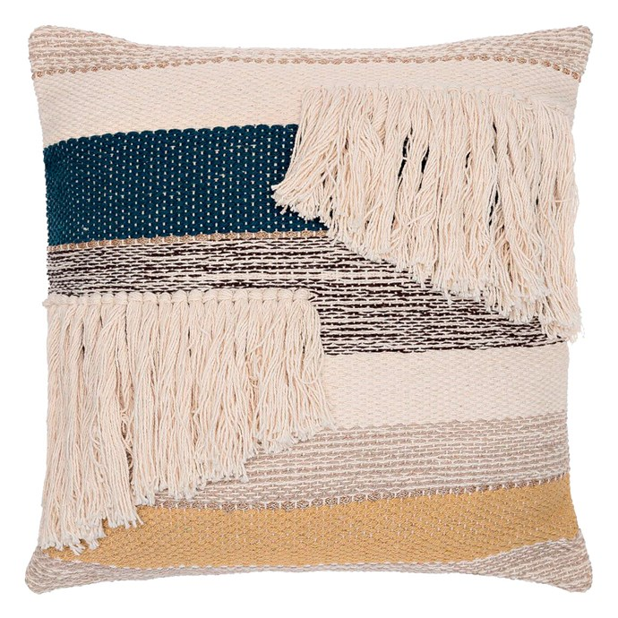 9\. 'Rosier' cushion in Harbour, $69.95, from [Freedom](https://www.freedom.com.au/).