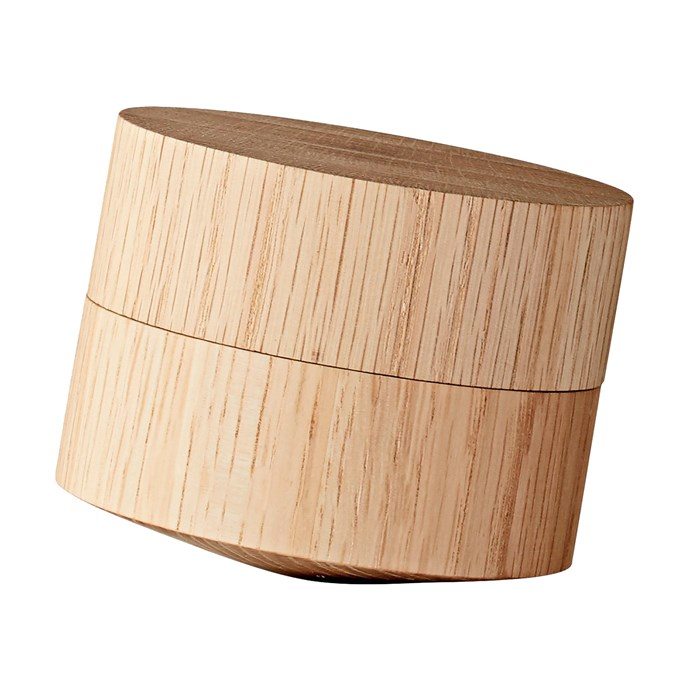 3\. AYTM 'Volvi' oak salt press cellar, $75, from [Design Stuff](http://www.designstuff.com.au/).