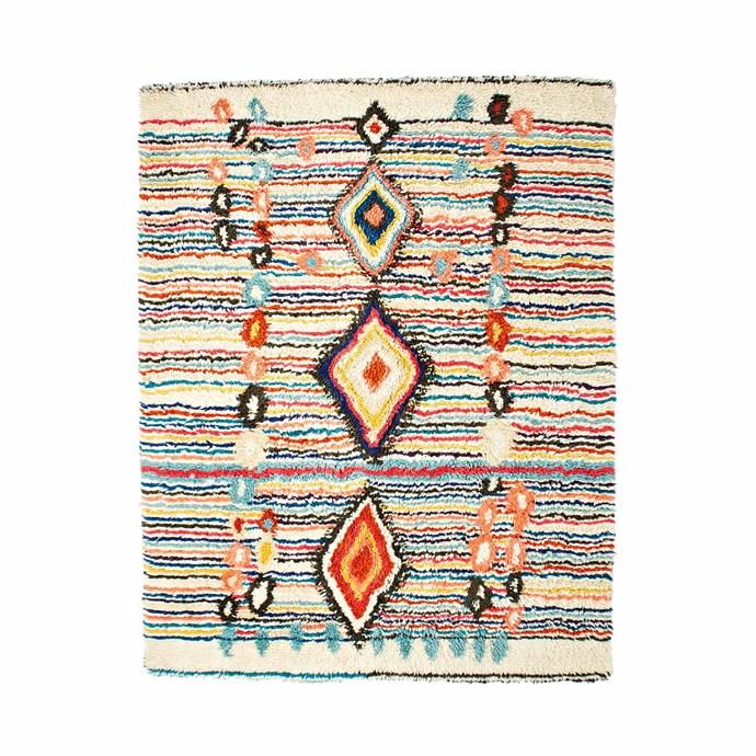 19\. 'Charm' wool rug, $1299 (244cm x 305cm) from [West Elm](http://www.westelm.com.au/).