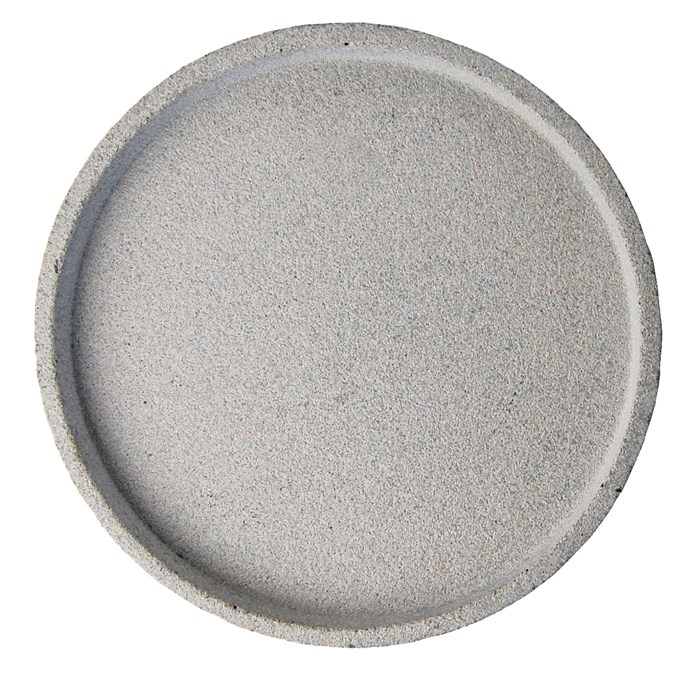 6\. Concrete round tray, $89 for large size, from [Zakkia](http://www.zakkia.com.au/).