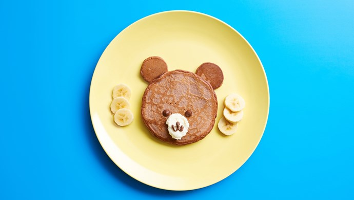 Keep those sweet-tooth cravings to a 'bear' minimum - pair these chocolate pancakes with fresh slices of banana.  | Photo: Stocksy